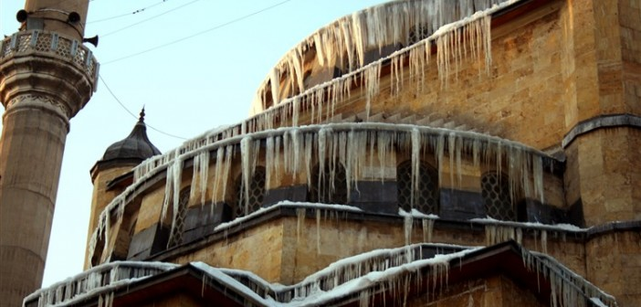 Sivas'ta kış mevsimi Paşa Camii