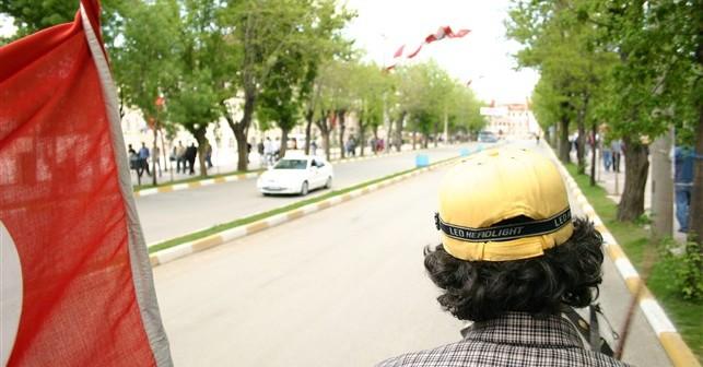 Sivas İstasyon Caddesinde Faytonla Gezi